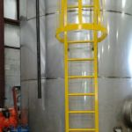 Stainless Steel Resin Mixing Tank